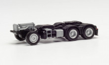 HERPA 1:87 - PARTS SERVICE CHASSIS MERCEDES-BENZ 6X4 WITH REAR SUPPORT AND CONSOLE FOR LOADING CRANE (2 PIECES)