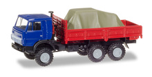 HERPA 1:87 - Pick-up truck with load under the canvas