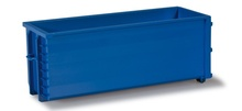 HERPA 1:87 - Roll-off dump, ultramarine blue