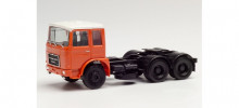 HERPA 1:87 - Roman Diesel 6×2 rigid tractor, orange/white