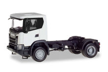 HERPA 1:87 - SCANIA CG 17 4X4 RIGID TRACTOR, WHITE