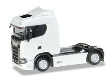 HERPA 1:87 - SCANIA CS 20 LOW ROOF TRACTOR, WHITE