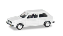 HERPA 1:87 - VOLKSWAGEN Golf I, atlas white