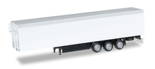 HERPA 1:87 - walking floor Trailer, Chassis black