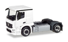 HERPA (MINIKIT) 1:87 - MERCEDES-BENZ ACTROS CLASSICSPACE 2,3 RIGID TRACTOR, WHITE