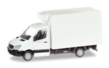HERPA (MINIKIT) 1:87 - Mercedes-Benz Sprinter refrigerated boxtrailer, unprinted