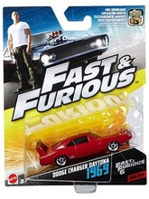 HOTWHEELS 1:55 - FAST & THE FURIOUS CARS - DODGE CHARGER DAYTONA