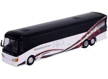 ICONIC REPLICAS 1:87 - MCI D4505 MOTORCOACH 'MCI CORPORATE', WHITE