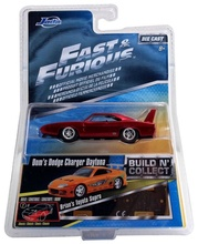 JADA 1:55 - FAST AND FURIOUS WAVE 2 - DOM'S DODGE CHARGER DAYTONA