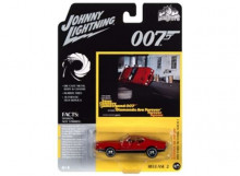 JOHNNY LIGHTNING 1:64 - FORD MUSTANG MACH 1 1971 *JAMES BOND DIAMONDS ARE FOREVER*, BRIGHT RED