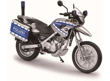 JOY CITY 1:12 - BMW F650GS POLIZEI, SILVER/BLUE