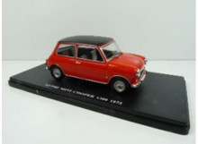 MAGAZINE MODELS 1:24 - MINI COOPER 1973 1360, RED WITH BLACK ROOF
