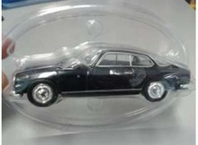 MAGAZINE MODELS 1:43 - 1958 LANCIA FLAMINIA ZAGATO IN BLISTERPACKAGE, BLACK