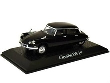 MAGAZINE MODELS 1:43 - CITROEN DS 19 1962 'CHARLES DE GAULLE', BLACK