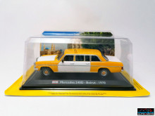 MAGAZINE MODELS 1:43 - MERCEDES 240D - BEIRUT 1973, TAXI OF THE WORLD - CENTAURIA