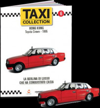 MAGAZINE MODELS 1:43 - TOYOTA CROWN - HONG KONG 1995 TAXI OF THE WORLD - CENTAURIA
