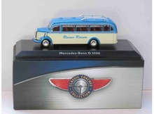 MAGAZINE MODELS 1:72 - MERCEDES-BENZ C 3500, BLUE/CREME