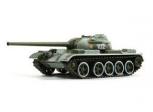 MAGAZINE MODELS 1:72 - T-54 RUSSIAN TANK SERIES, CAMOUFLAGE GREEN/GREY