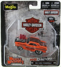 MAISTO 1:64 - HARLEY DAVIDSON MUSCLE MACHINES 1964 FORD THUNDERBOLT