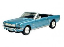 MOTORMAX 1:24 - FORD MUSTANG CONVERTIBLE 1/2 1964, LIGHT BLUE