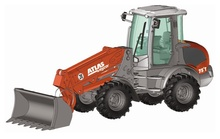 NZG 1:50 - Atlas Weycor Ar75E T, Wheel Loader (WSL)