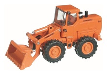 NZG 1:50 - Hanomag B8 Wheel Loader - Orange (WSL)