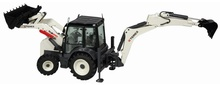 NZG 1:50 - Terex Tlb890, Backhoe Loader, Innerside extending dipperstick