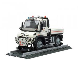 NZG 1:50 - Unimog U400 Two-way c/w platform - Sersa