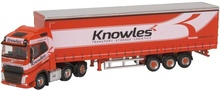 OXFORD 1:148 - VOLVO FH4 CURTAINSIDE KNOWLES