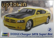 REVELL US 1:25 - DODGE CHARGER SRT8 SUPERBEE CUSTOM 2008, PLASTIC MODELKIT
