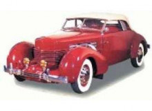 SIGNATURE MODELS 1:18 - CORD 812 SUPERCHARGED 1937, BURGUNDY