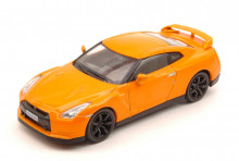 SOLIDO 1:43 - NISSAN GT-R 2007 METALLIC ORANGE