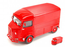 WELLY 1:24 - CITROEN HY TYPE 1962 RED