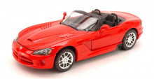 WELLY 1:24 - DODGE VIPER RT/10 2003 RED