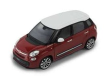 WELLY 1:24 - FIAT 500L 2013, RED