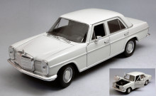 WELLY 1:24 - MERCEDES 220 (W115) WHITE
