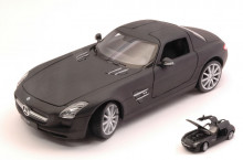WELLY 1:24 - MERCEDES SLS AMG (C197) MATT BLACK