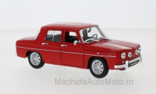 WELLY 1:24 - RENAULT R8 GORDINI, RED/WHITE