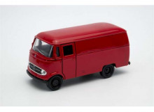 WELLY 1:32 - MERCEDES BENZ L319 PANEL VAN, RED