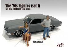 AMERICAN DIORAMA 1:43 - 70S STYLE FIGURE SET #3