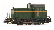 Arnold N (1:160) - Diesel locomotive 303.131, green & yellow, ep. IV