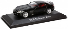 ATLAS 1:43 - MERCEDES BENZ SLR MCLAREN (C 199) 2004, BLACK