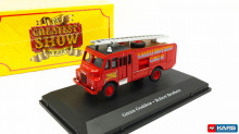 ATLAS 1:76 - BEDFORD RLHZ GREEN GODDESS FIRE ENGINE, ROBERT BROTHERS CIRCUS, ROSU