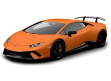 BBURAGO 1:24 - LAMBORGHINI HURACAN PERFORMANTE, ORANGE
