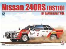 BEEMAX 1:24 - NISSAN 240RS 1984 BS110 SAFARY RALLY, PLASTIC MODELKIT