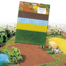 BUSCH 1:87 - ASSORTED SOIL/FIELD/WATER SHT