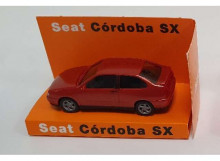 DEALER MODEL 1:87 - SEAT CORDOBA SX , RED-ORANGE