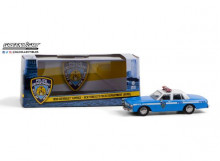 GREENLIGHT 1:43 - CHEVROLET CAPRICE 1990 NEW YORK CITY POLICE DEPT *NYPD*, BLUE/WHITE
