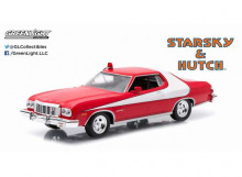 GREENLIGHT 1:43 - FORD GRAN TORINO 1976 *STARSKY & HUTCH TV SERIES 1975-79* IN ORIGINAL STARSKY & HUTCH PACKAGING.