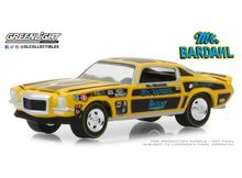 GREENLIGHT 1:64 - CHEVROLET CAMARO 1970 MR. BARDAHL, YELLOW/BLACK